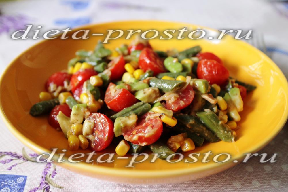 Рецепты с фасолью низкокалорийные