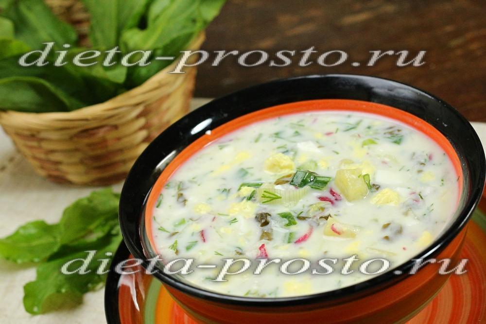 Холодник на кефире рецепт с фото