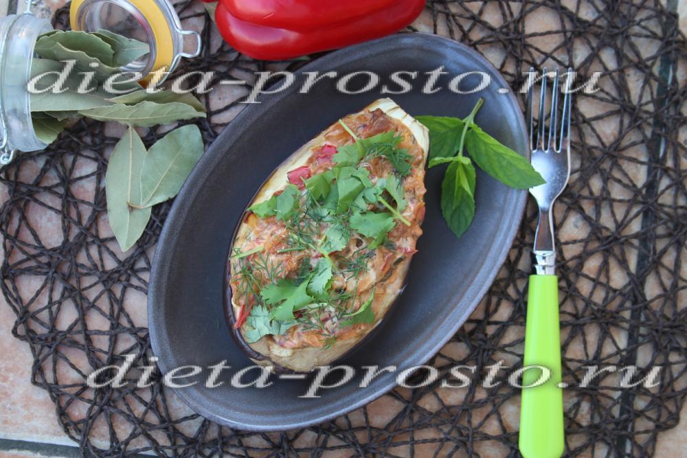 запеченные яйца в духовке с овощами рецепт