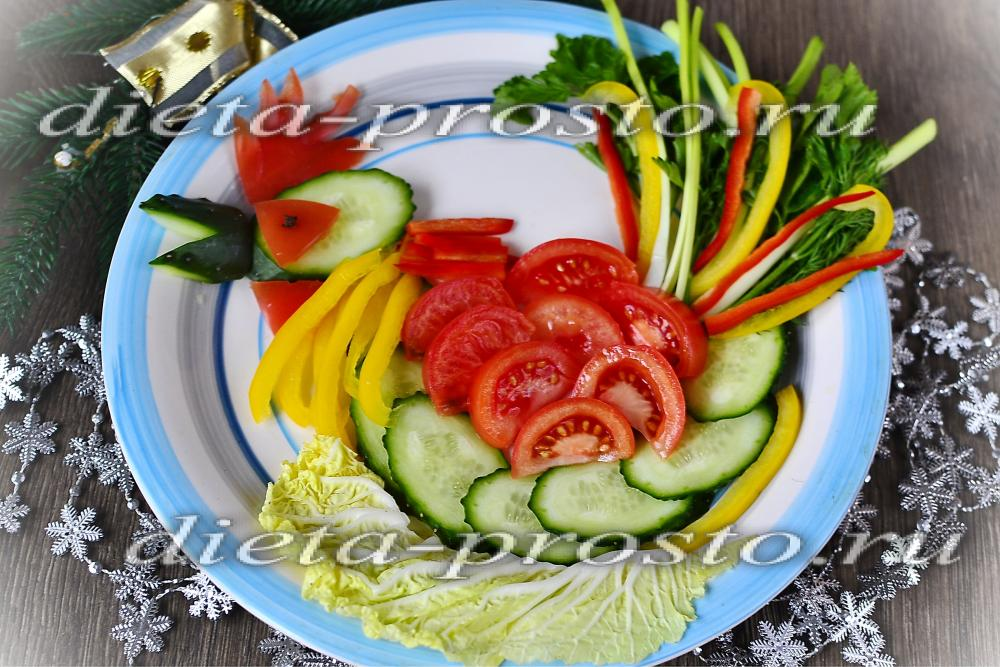 Салат и закуски на новый год 2017