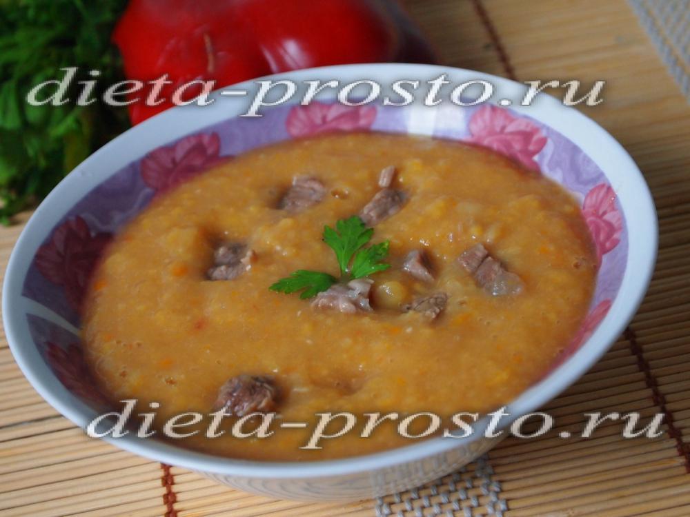 супы в пароварке рецепт с фото