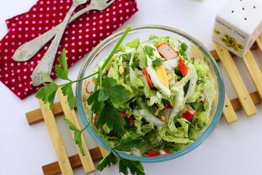 Как похудеть на салате