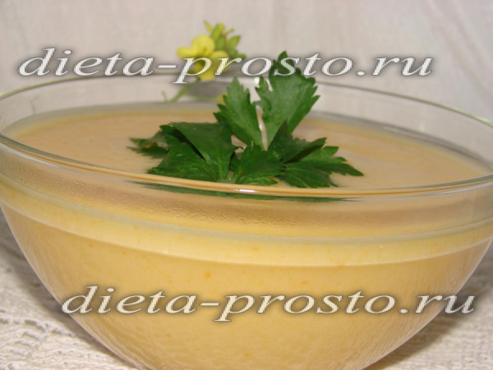 Диетический крем суп из цветной капусты рецепты