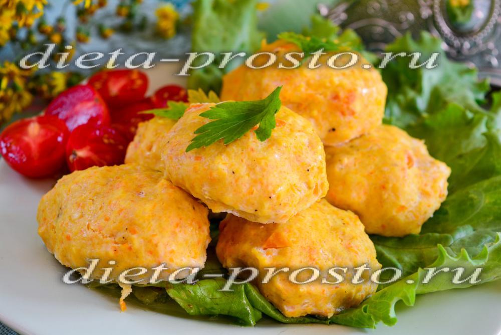 Блюдо диетическое из картошки
