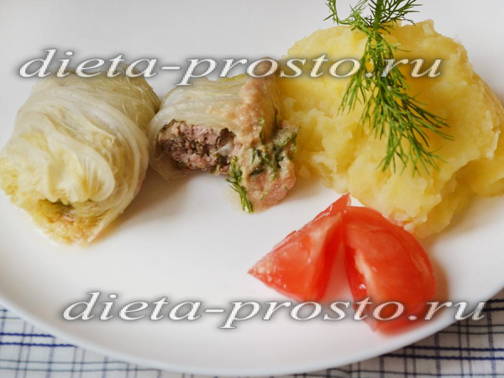 Голубцы овощные рецепт в мультиварке