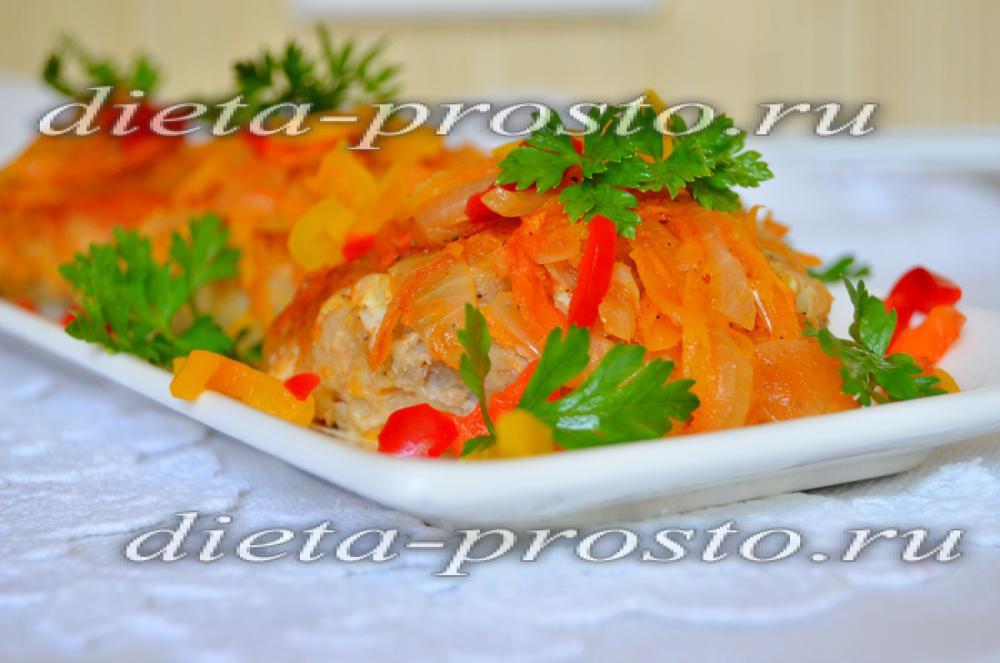 Диетические рыбные котлеты в духовке рецепт пошагово