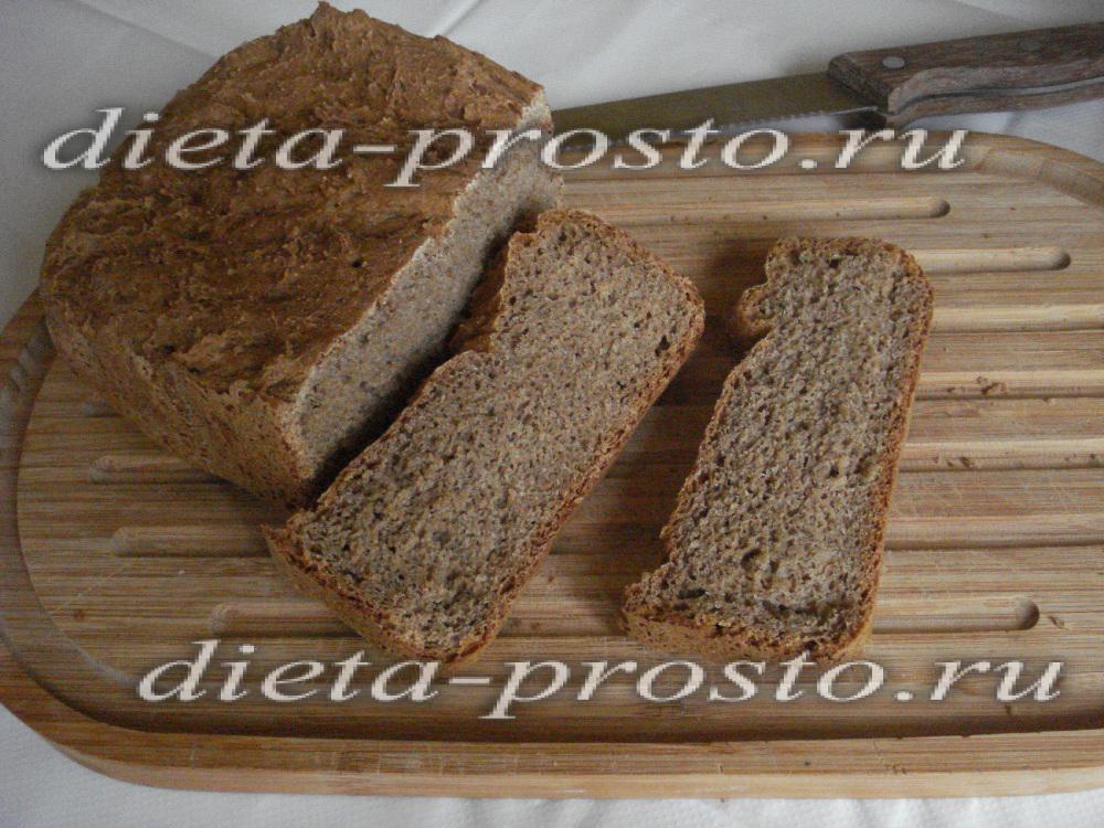 хлеб из ржаной муки в хлебопечке мулинекс