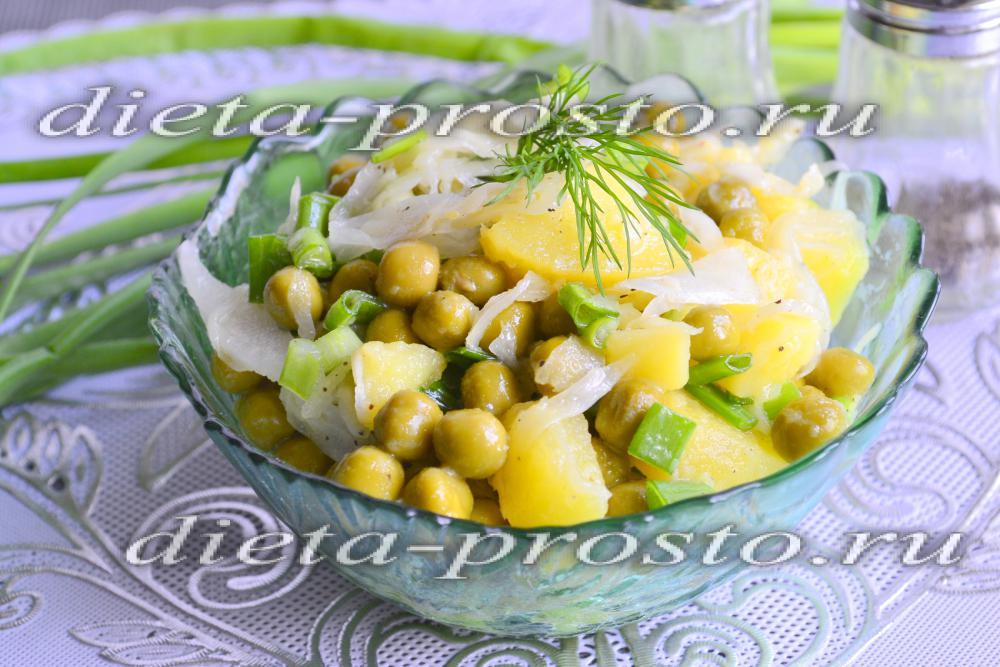 Рецепт постных салатов с капустой с