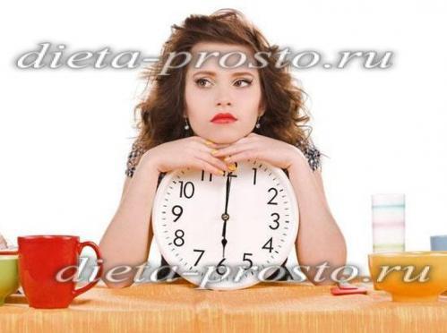 как похудеть после 6 вечера