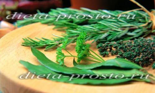 как похудеть на травах рецепты