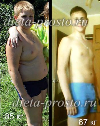похудеть на 8 кг за месяц диета