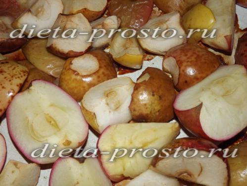 запекаем яблоки в духовке минут 20-30