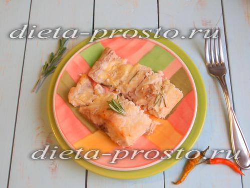 Белый амур в фольге в духовке, рецепт с фото