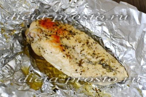 Жареное куриное филе на сковороде без масла