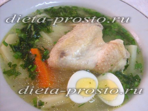 детские рецепты супов из курицы