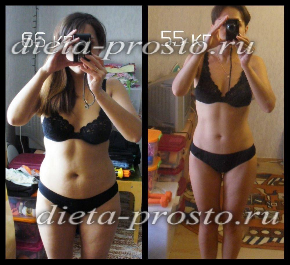 как похудеть за месяц и убрать живот
