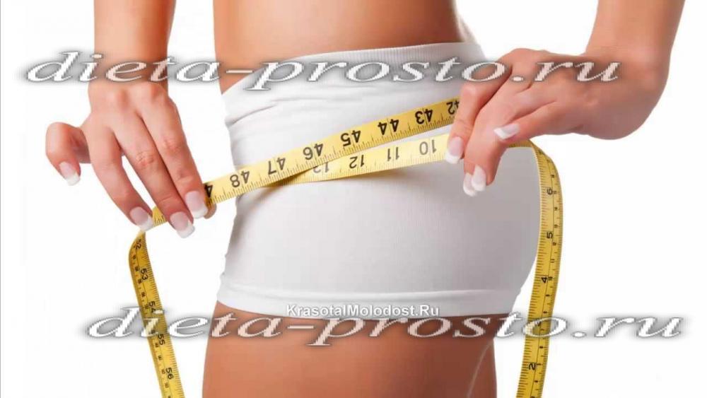 Диета для похудения живота меню на неделю