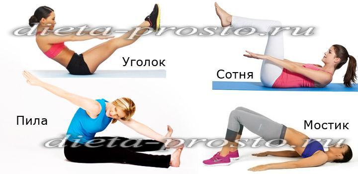 Похудение ног и бедер в тренажерном зале для женщин