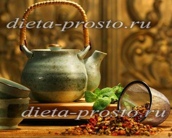 Для похудения монастырский чай