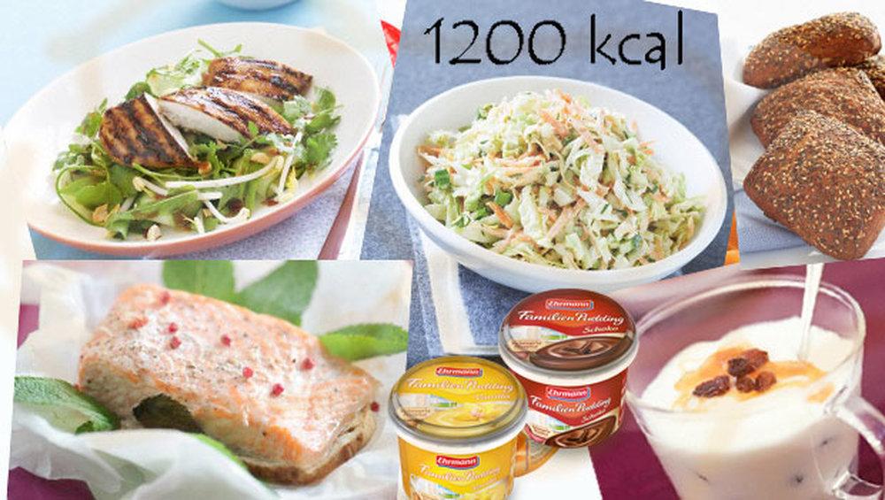 Если готовить их исключительно на пару, воде, без жарки и употребления  масла, то можно легко подобрать меню, которое будет состоять из 1200 ... 75f22057d1d