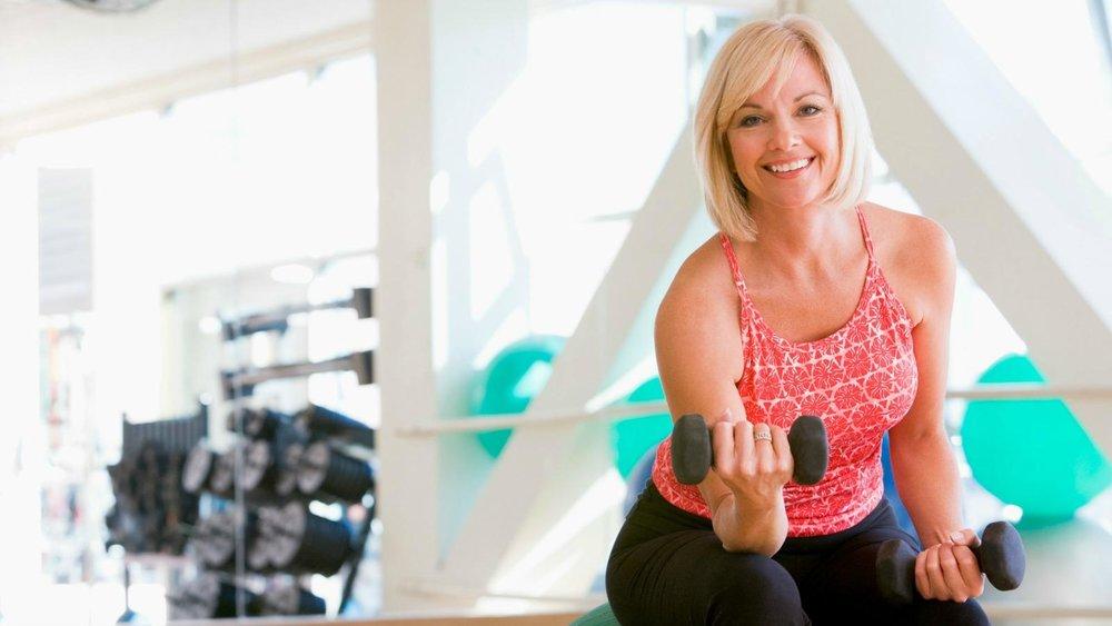Как похудеть женщине за 60
