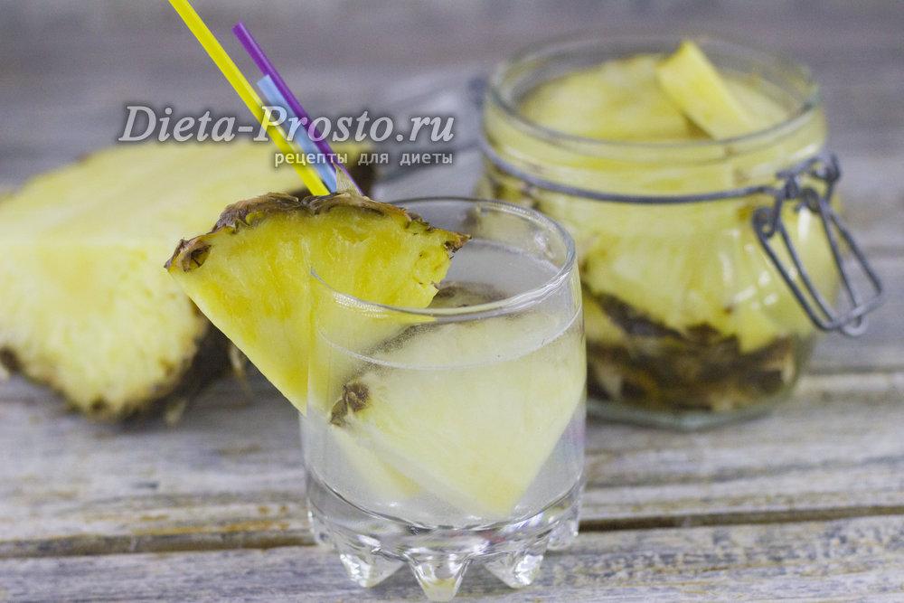 настойка для похудения с ананасом отзывы