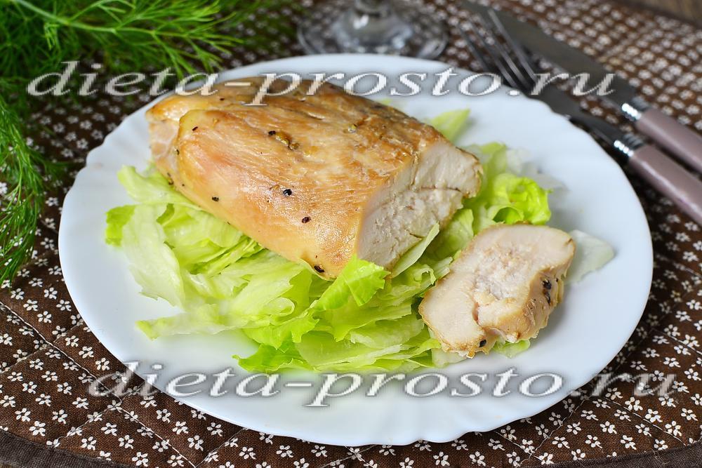 диетическая курица в духовке рецепт с фото