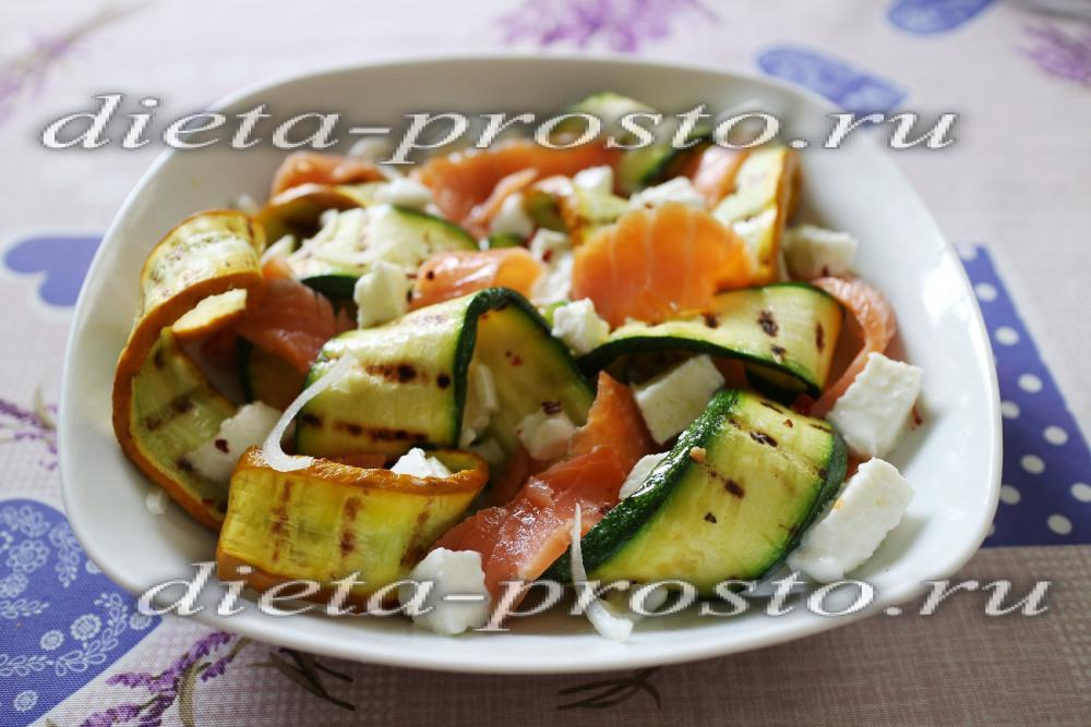 диетический салат с рыбой рецепт