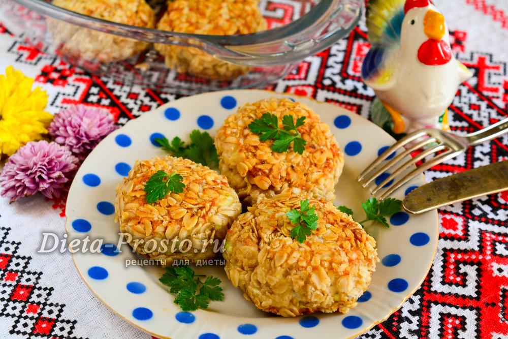 Куриные котлеты с овсянкой в духовке — pic 5