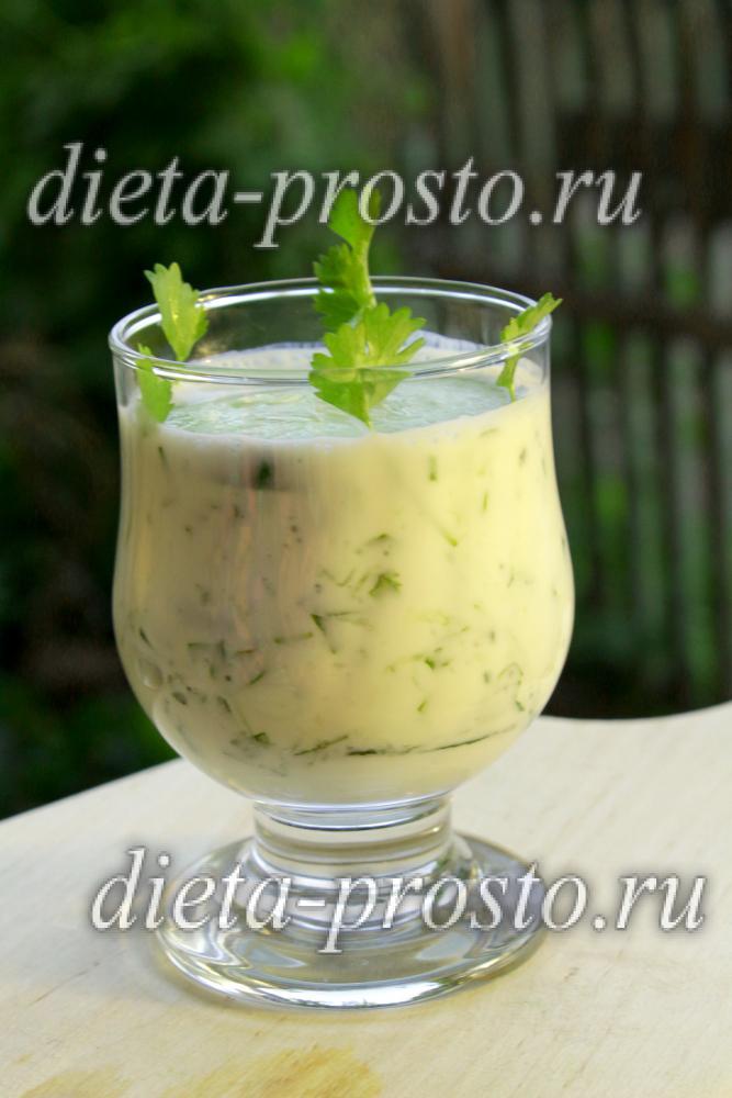 Зелёный коктейль Дюкана для похудения