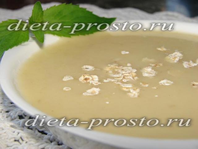 Овсяный крем-суп