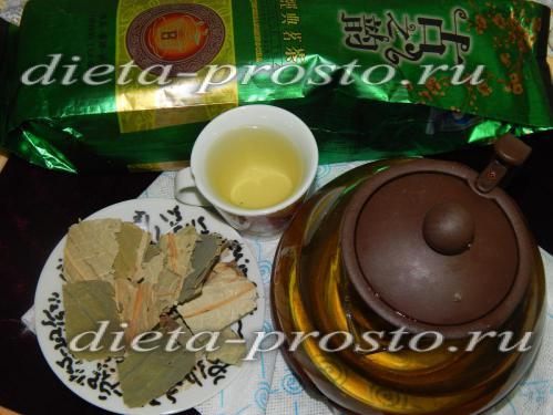 Чай из листьев лотоса для похудения, отзывы