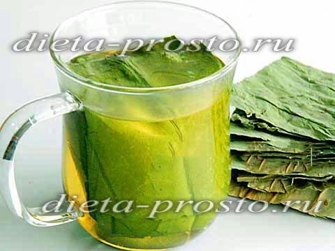 Чай из листьев лотоса для похудения