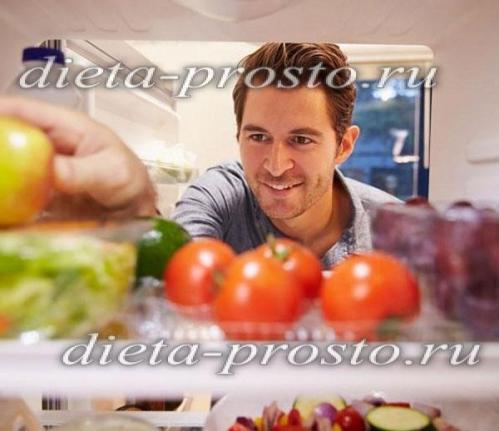 Диета при повышенном холестерине у мужчин: меню на неделю