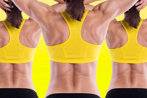 Как убрать жир со спины в домашних условиях за короткий срок