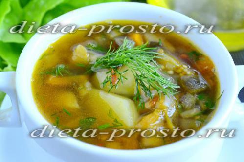 суп можно подавать