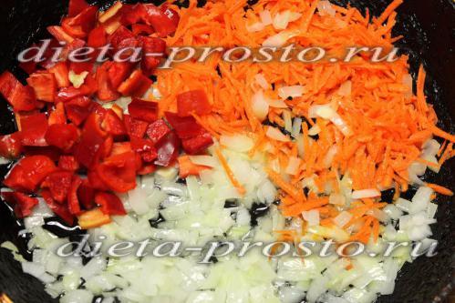 овощи потушить