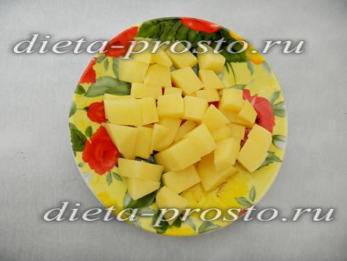 Режим картофель