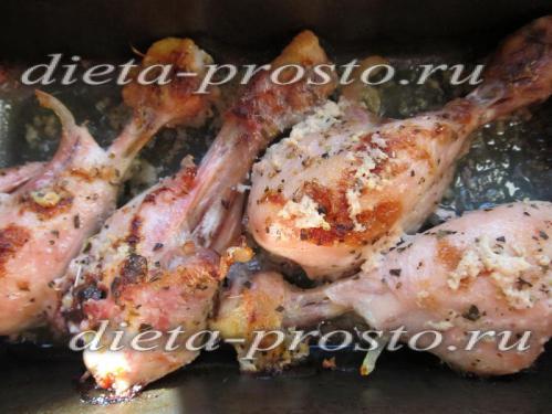Курица в кефире диета дюкана