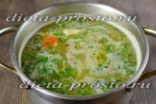 Закладываем пассеровку в суп