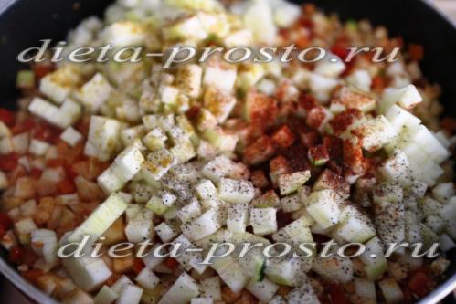 приправляем овощи специями