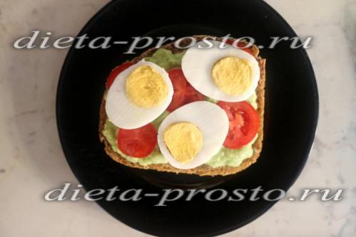 режем яйцо