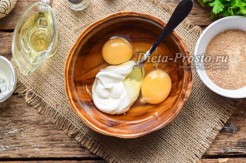 Взбить яйцо