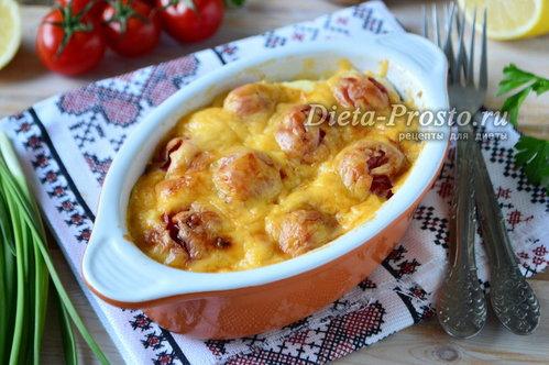 рецепт куриного филе с картофелем в духовке